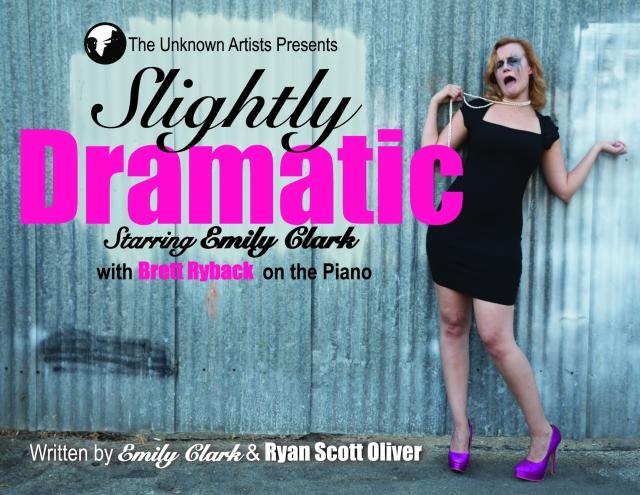 Slightly Dramatic Postcard 2014