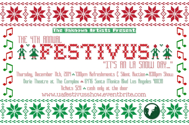 Festivus 2014 postcard