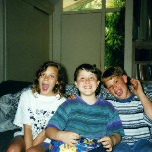 Emily Clark, Cody Clark, Ryan Scott Oliver. The 90's.