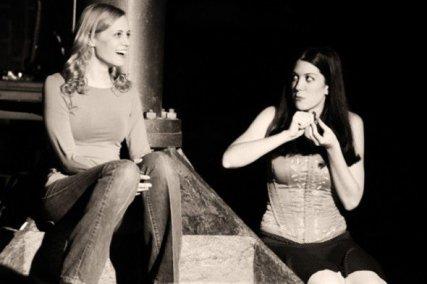 Emily Clark and Pamela Eberhardt, 2007, New York City